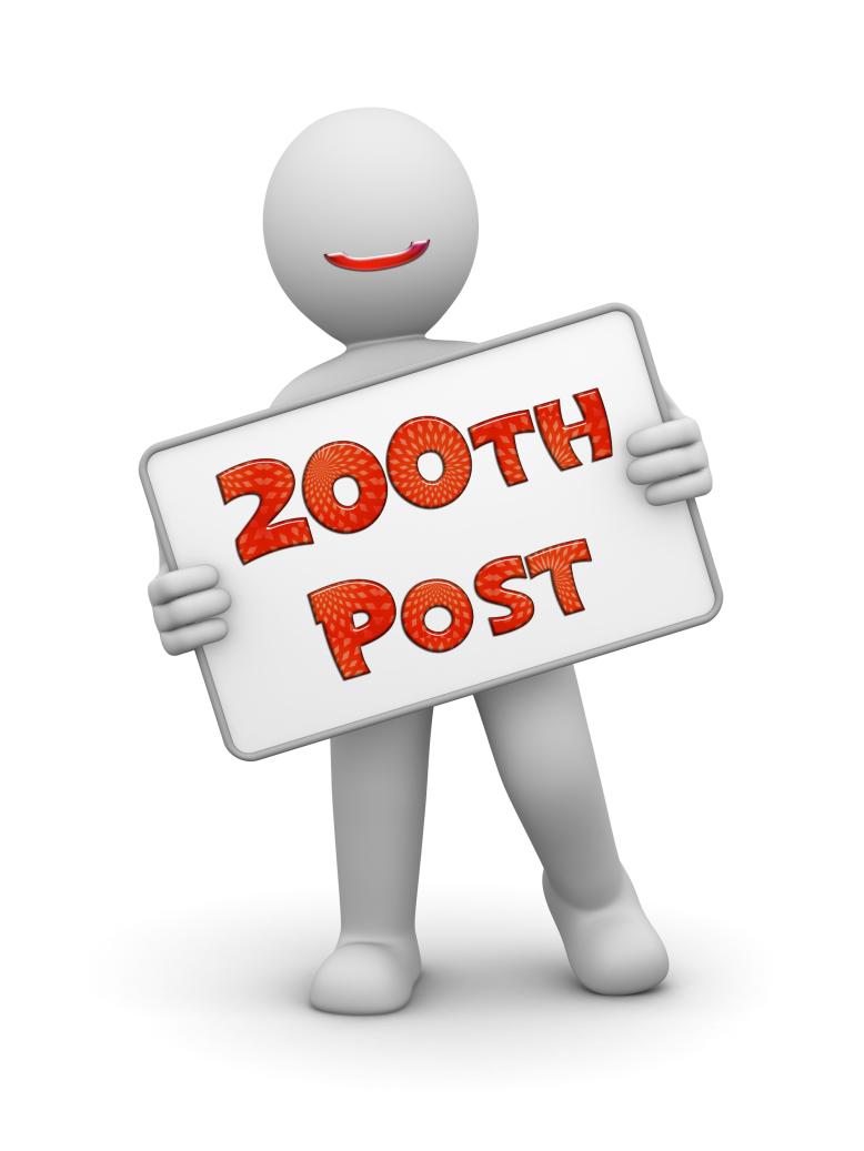 200th post