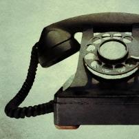 old black phone