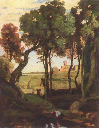 Castel Gandolfo Corot