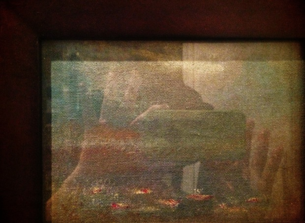 ghost under glass