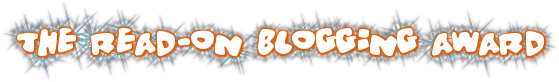 read-on blogging award