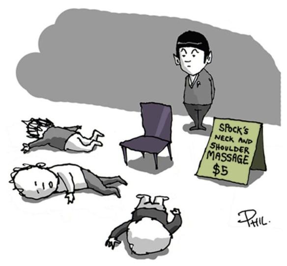 spock massage
